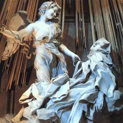 Bernini L'estasi di Santa Teresa